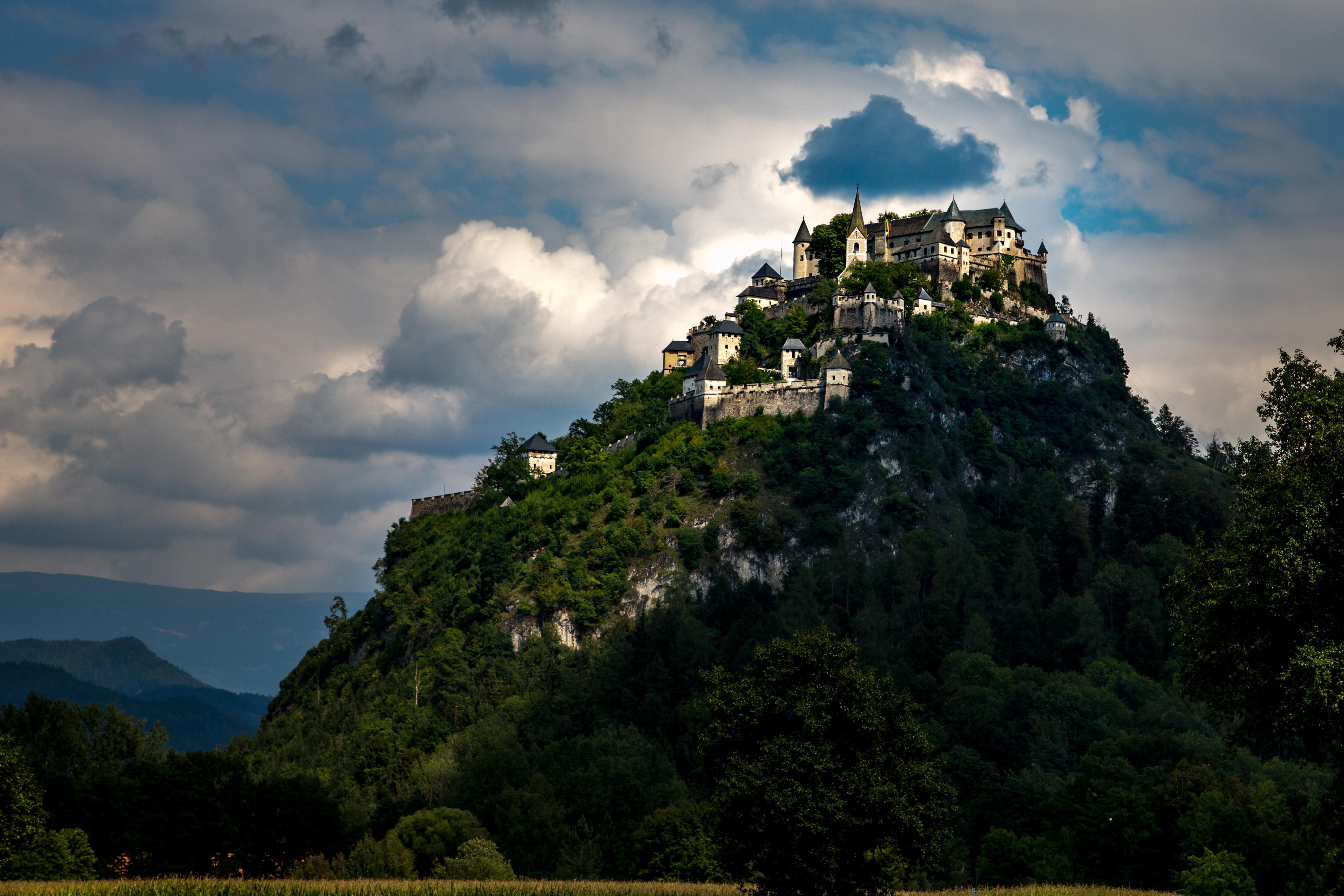 Burg Hochosterwitz, Foto: August Zoebl